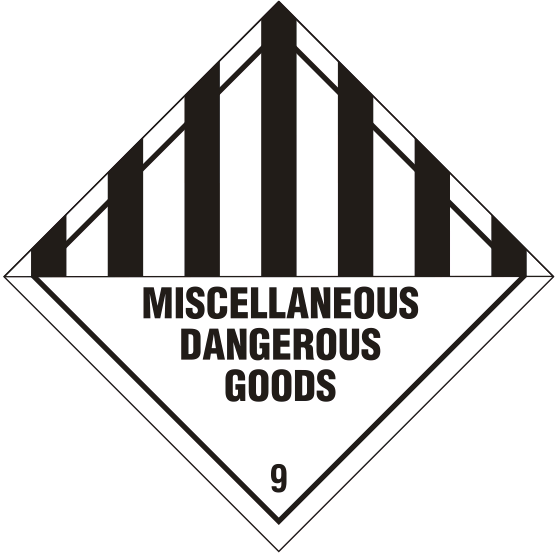 classes of dangerous goods pdf